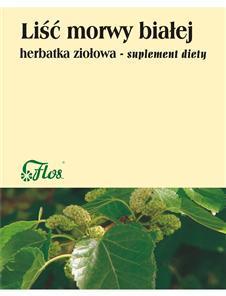 Morwa biała liść