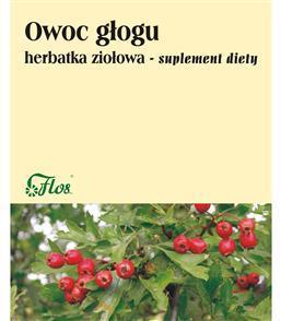 Owoc głogu herbatka ziołowa