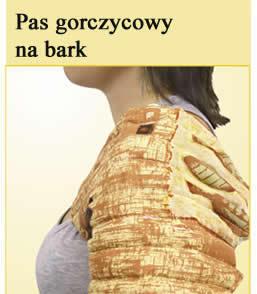 Pas gorczycowy na bark