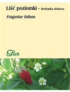 Poziomka liść herbatka ziołowa