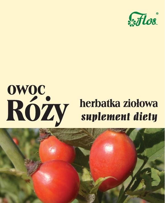 Róża owoc herbatka ziołowa suplement diety