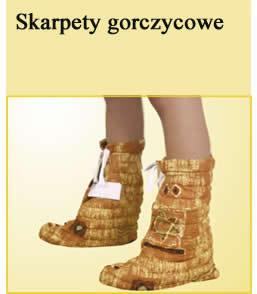 Skarpety gorczycowe