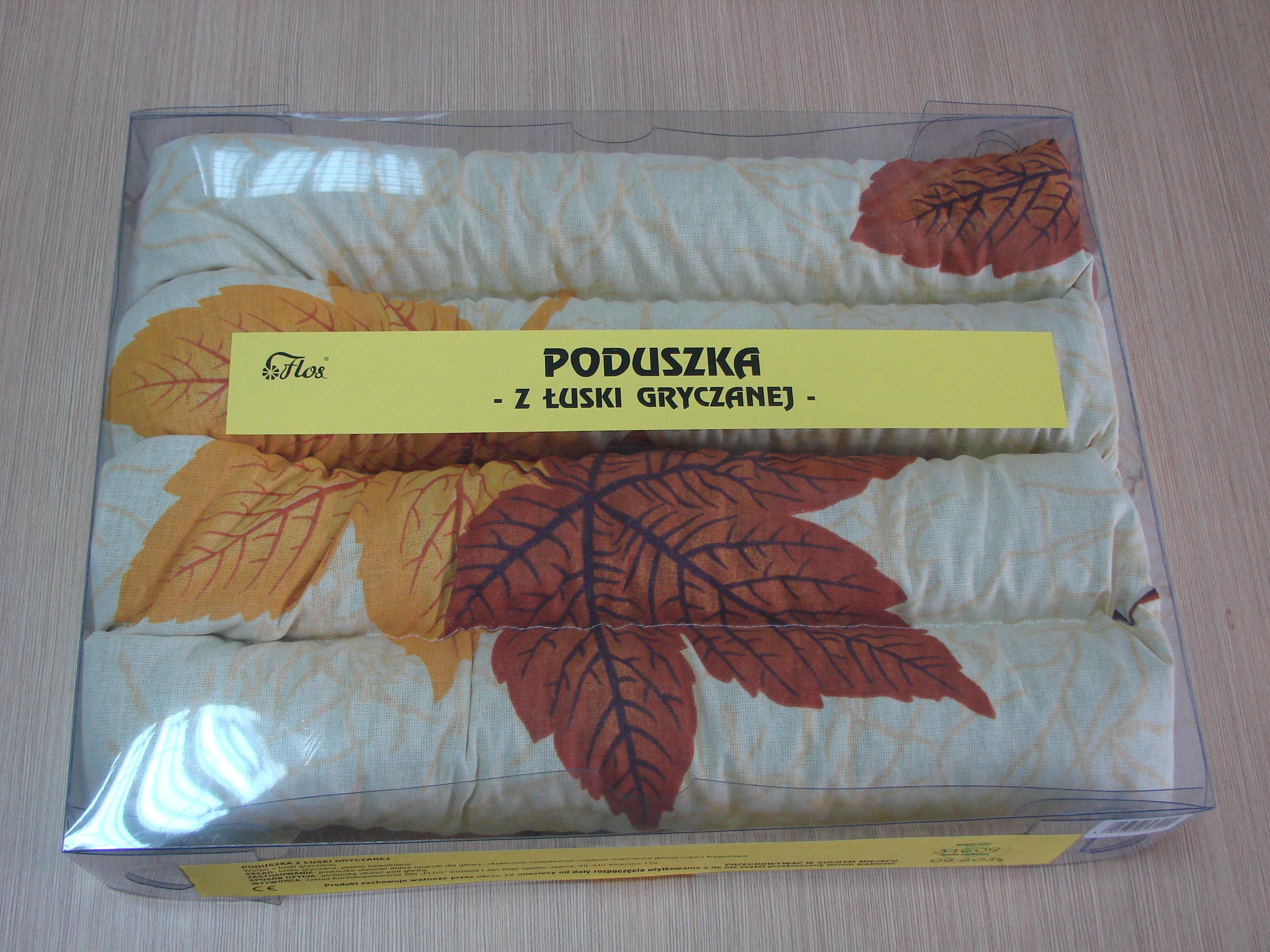 Poduszka z łuski gryczanej