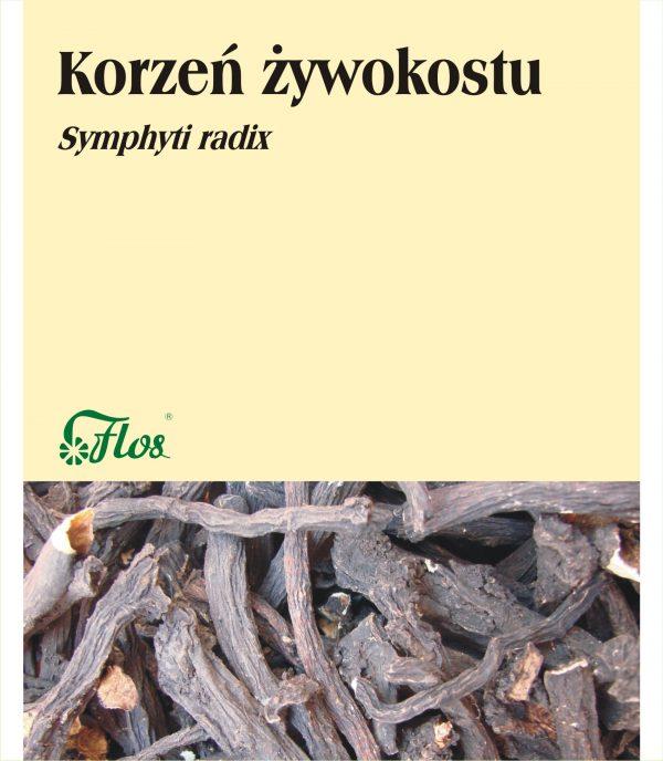 Żywokost korzeń