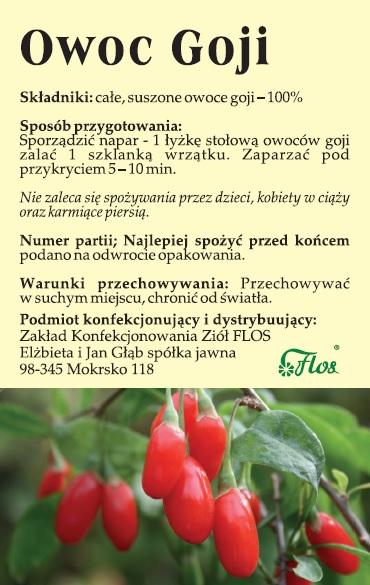 Owoc goji
