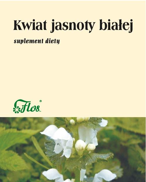 Kwiat jasnoty białej suplement diety