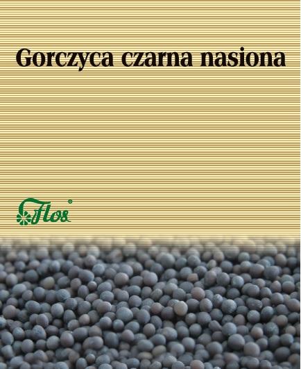 Gorczyca czarna nasiona